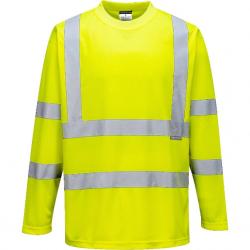T-Shirt ostrzegawczy z długimi rękawami PORTWEST  S178