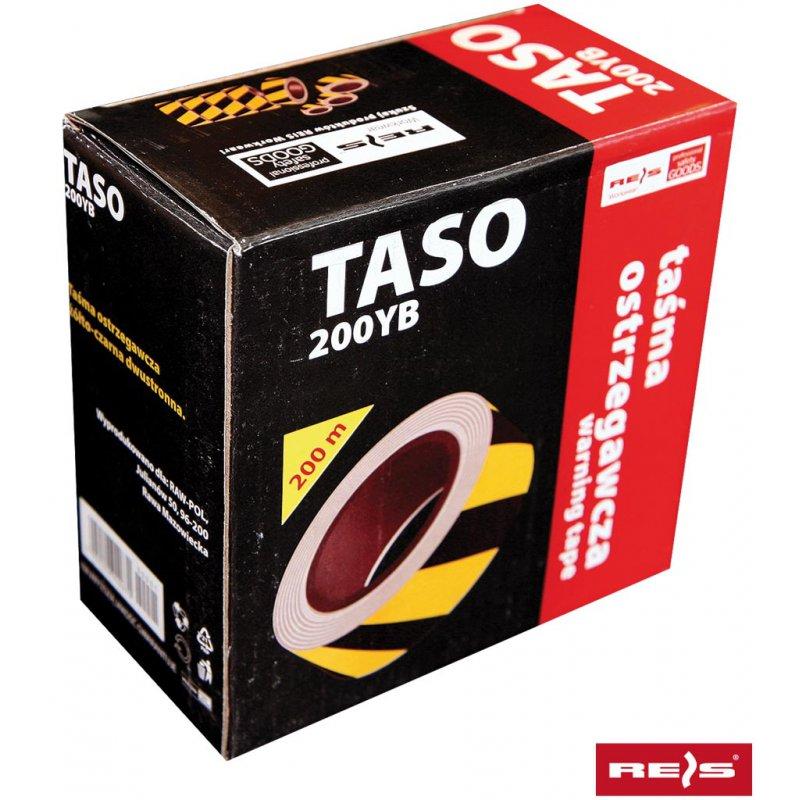 c7f37c438d2188 Taśma ostrzegawcza dwustronna (żółto-czarna) TASO200 YB - Arkadia BHP