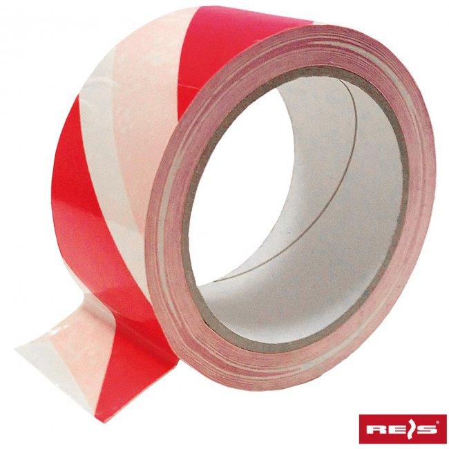 2adae766ef79ba Taśma ostrzegawcza samoprzylepna czerwono-biała TASO-SP33 CW ...