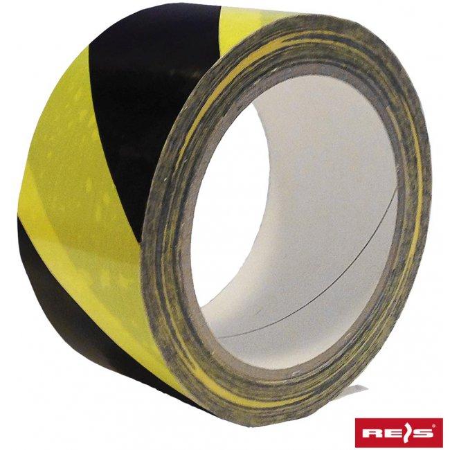 c6ea19fa9c8119 Taśma ostrzegawcza samoprzylepna żółto-czarna TASO-SP33 YB - Arkadia BHP
