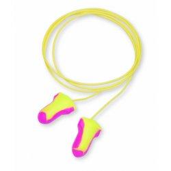 Rolowane wkładki przeciwhałasowe 3M™ E-A-Rsoft™ Yellow Neons (ES-01-001) bez sznurka