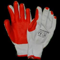 Rękawice ochronne powlekane lateksem JM GLOVES 150 (extra gripp)