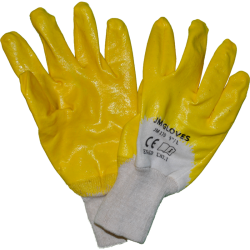 Rękawice ochronne powlekane nitrylem JM GLOVES 170 (rteni)