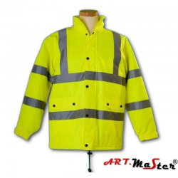Winter protective Hi-VIS jacket FLASH - Art.Master