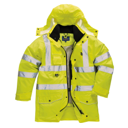 HI-VIS 7-IN-1 TRAFFIC JACKET - S427