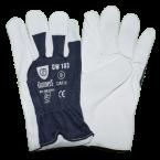 Rękawice ochronne całoskórzane, lico Gunners DW203 - kat. II