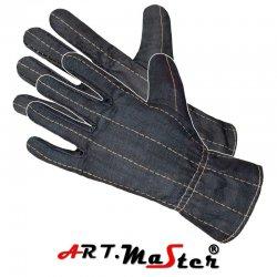 Rękawice spawalnicze  pięciopalcowe  z dwoiny bydlęcej
