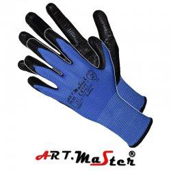 Rękawice ochronne poliestrowe powlekane nitrylem - RNITPAS Kat. II