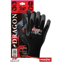 Rękawice ochronne powlekane lateksem - DRAGON