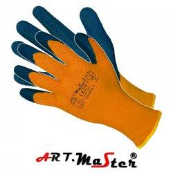 Rękawice ochronne Kat. 2 - ocieplane powlekane lateksem RdragBlue O