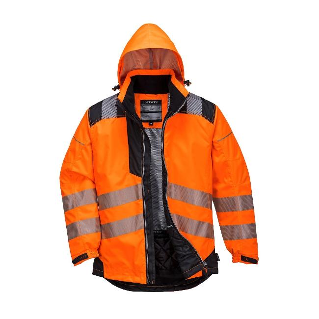 Kurtka ostrzegawcza zimowa PORTWEST PW3-T400