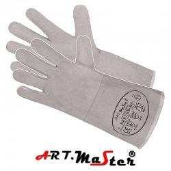 Rękawice spawalnicze  pięciopalcowe  z dwoiny bydlęcej JM230