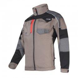 Bluza robocza slim fit w kolorze khaki Lahti Pro L40410